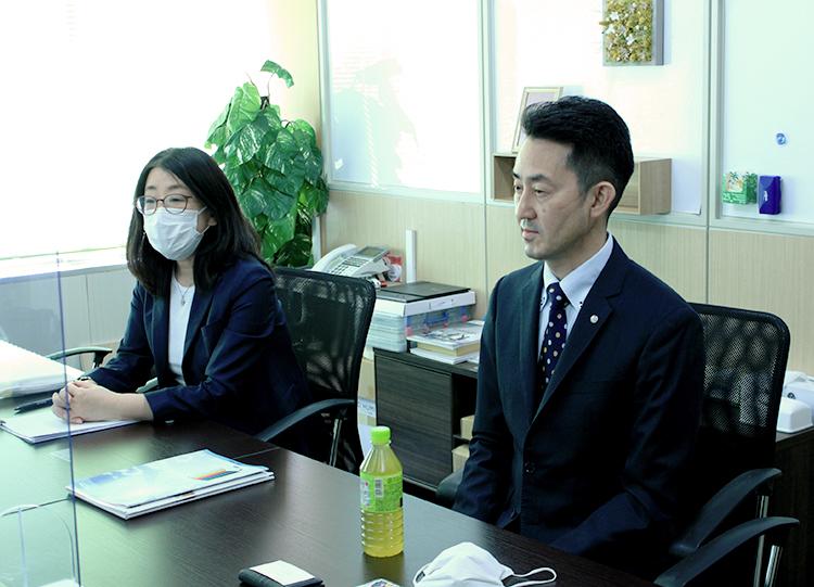 前橋氏、江尻氏へのインタビュー