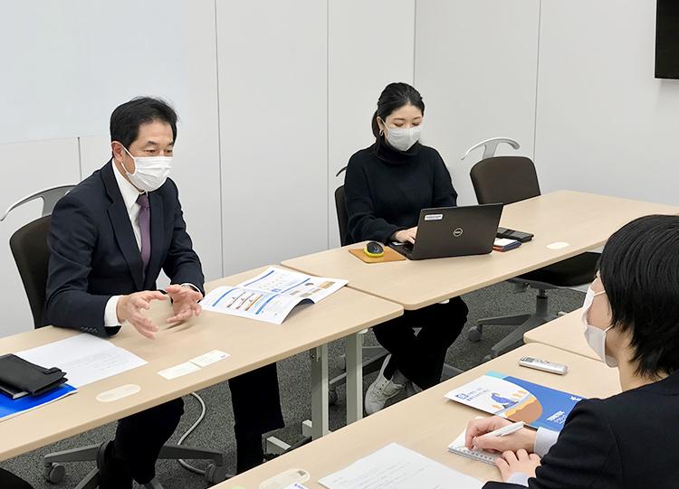 川口氏、矢吹氏へのインタビュー