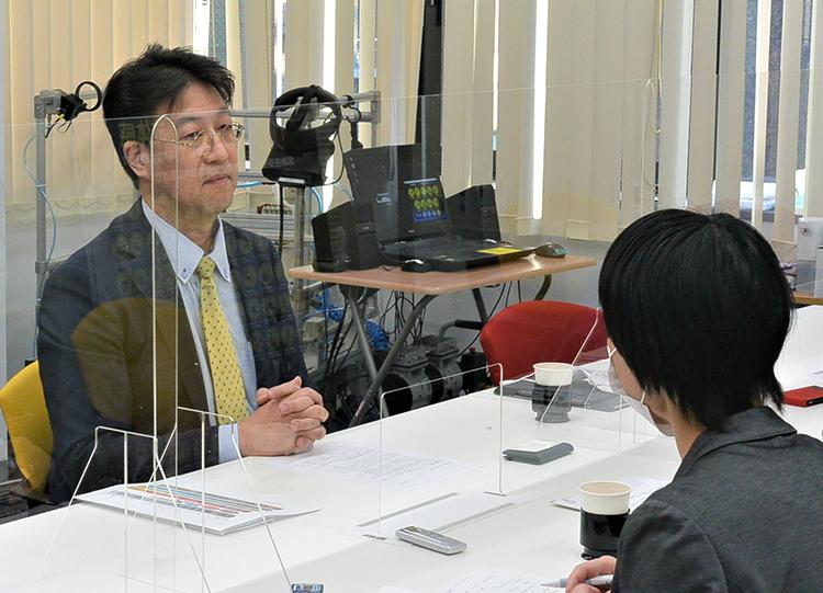 松田氏へのインタビュー
